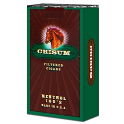 Chisum Menthol Filtered Cigars
