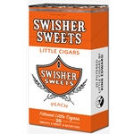 Swisher Sweet Filtered Little Cigars Peach