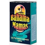 Bahama Mamas Mint Filtered Cigars
