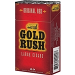 Gold Rush Original Red (Full Flavor) Filtered Cigars
