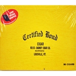 Certified Bond Slim Dark Cigars