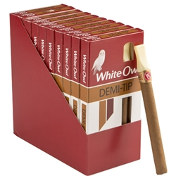 White Owl Demi Tip Cigars