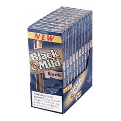 Middleton Black & Mild Royale Wood Tip Cigars