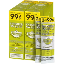 Swisher Sweets White Grape Cigarillos