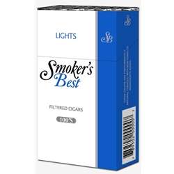 Smoker's Best Light Filtered Cigars