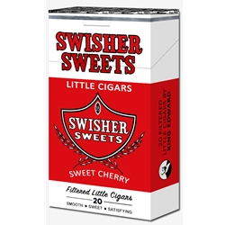 Swisher Sweets Filtered Little Cigars Cherry