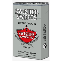 Swisher Sweets Filtered Little Cigars Silver