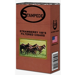 Stampede Strawberry Filtered Cigars