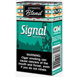 Signal Menthol Filtered Cigars