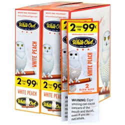 White Owl Cigarillos White Peach