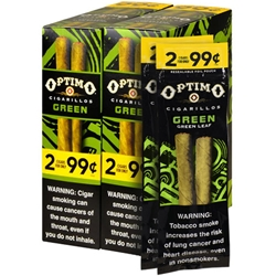Optimo Cigarillos Green Candela