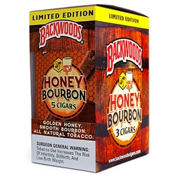 Backwoods Honey Bourbon Cigars