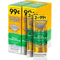 Swisher Sweets Maui Pineapple Cigarillos