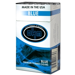 OHM Blue (Light) Filtered Cigars