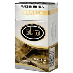 OHM Vanilla Filtered Cigars