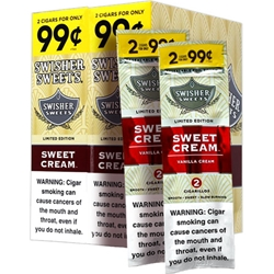 Swisher Sweets Sweet Cream Cigarillos