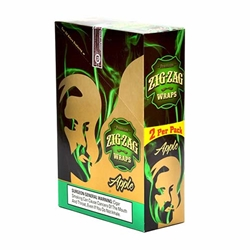Zig Zag Apple Blunt Wraps