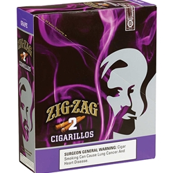Zig-Zag Cigarillos Grape