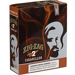 Zig-Zag Cigarillos Straight Up